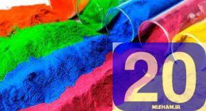 دانلود مقاله رنگها در صنایع غذایی | 20 میشم