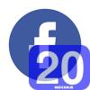 فیسبوک | 20 میشم